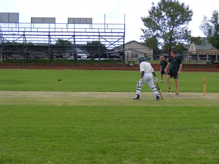 Jim Fouche Cricket Match